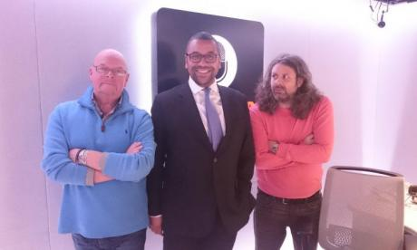 The James Whale Show bonus podcast: James Cleverly