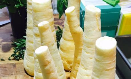 Barry Vera's maple and parmesan parsnips recipe