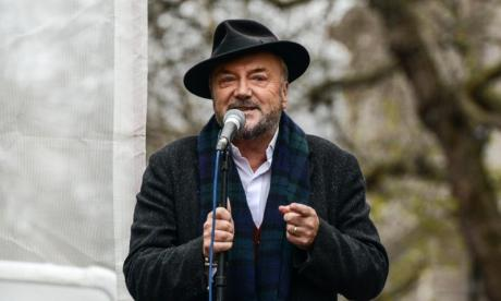 George Galloway claimed Frank Field was too scared to face him on talkRADIO