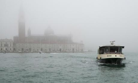 Venice's first electric eco-friendly waterbus is added to the fleet