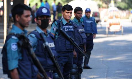 Suspected militants, including a woman and her daughter, blow themselves up in Bangladesh