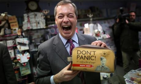 James Whale tells UKIP's Jonathan Arnott: 'Your party is a bit nutty without Nigel Farage'