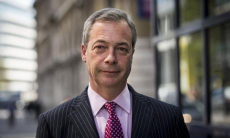 Nigel Farage shortlisted for Time Magazine award