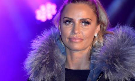 Katie Price has vowed she will not drink for one year
