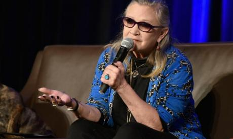 'A strong role model for all of us' - Fans pay tribute to Carrie Fisher