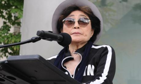 Yoko Ono calls for tighter gun control, on anniversary of John Lennon's death