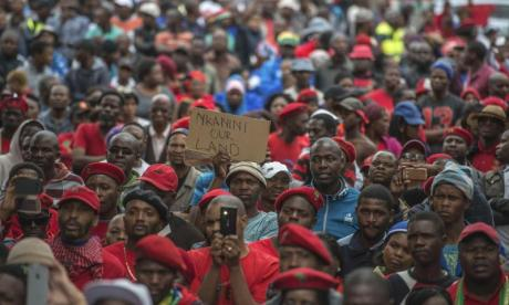 South Africa: White men denied bail over forcing a black man into a coffin
