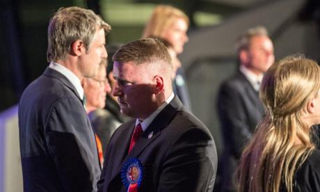 Paul Golding has been jailed for breaching a High Court injunction