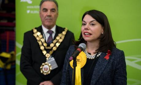 New Richmond Park MP Sarah Olney dragged off air by PR after grilling by Julia Hartley-Brewer