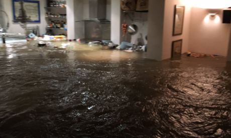 Dozens evacuated after burst water main causes severe flooding in North London