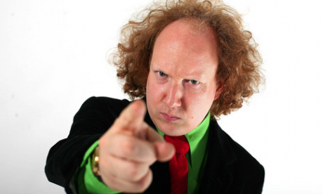 Andy Zaltzman on Theresa May's leather trousers, his new show and upcoming tour