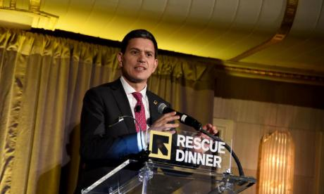 David Miliband quit politics to run a prominent charity