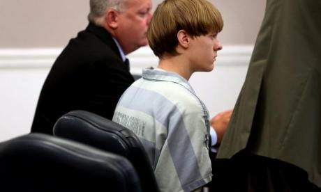 Roof killed nine black people at a church in 2015