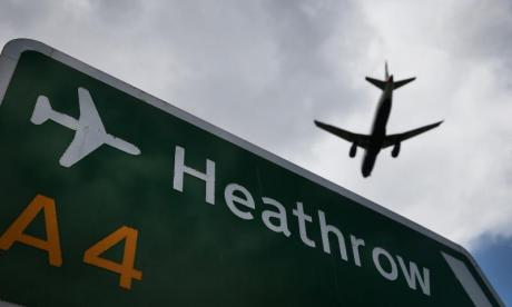 Man arrested at Heathrow airport on suspicion of terror offences