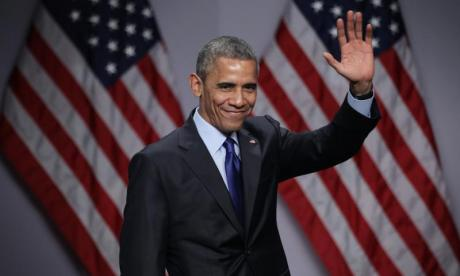 Barack Obama gives a final warning on American democracy