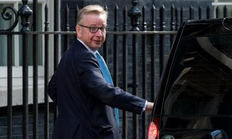 'Michael Gove's face looks like a mixture of playdough and kinetic sand', says Jon Holmes