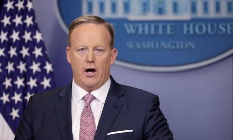 Sean Spicer's got beef - and it's not with the media