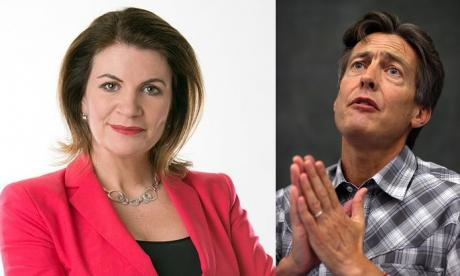 Julia and Ben Bradshaw clashed over Brexit