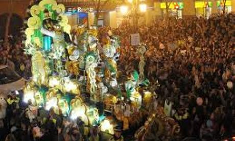 Floats play a key role in the festivities