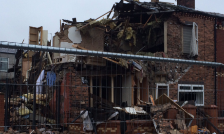 Blackley House explosion: man arrested on suspicion of endangering life