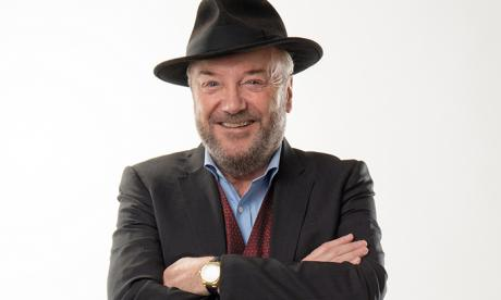 'Protesters are outraged over Donald Trump's wall, but where were they when the UK built one in Calais?', asks George Galloway