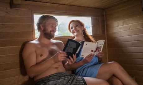 Austrian deputy mayor invites constituents for business meeting in the sauna