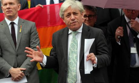 Row over John Bercow's Donald Trump comments growing in the House of Commons