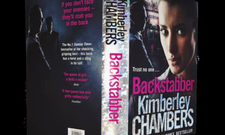 Penny Smith's book club: Kimberley Chambers on her book 'Backstabber'