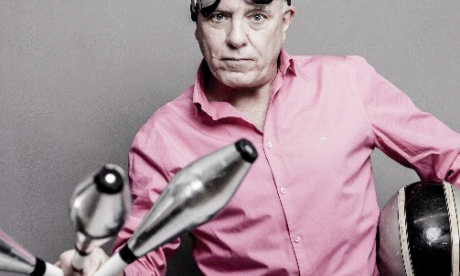 Dave Spikey on his Juggling On A Motorbike tour, NHS work, and career