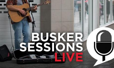 Murray Gardiner performs in Busker Sessions for Jon Holmes