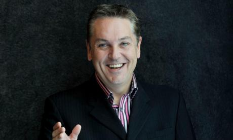 Comedian Brian Conley says 'you've got to watch The Nightly Show because it's so bad'