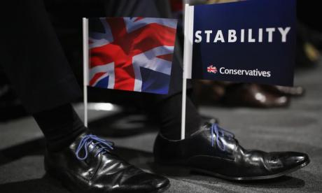 Conservative Party handed £70,000 fine by Electoral Commission over election expenses