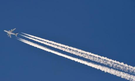 The Big Debate on trails: 'Should a pilot get out the plane and pick up contrails as if they were dog poo?'