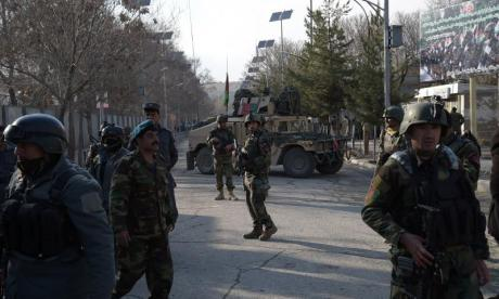 At least 30 people killed in attack on Afghanistan military hospital where gunmen were dressed as medics