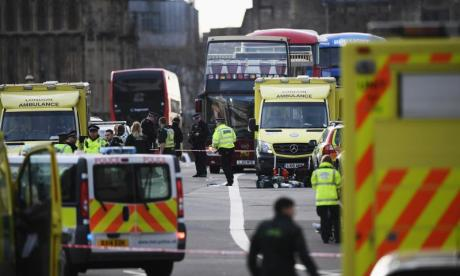 'We are at war', Tommy Robinson tells Jonny Gould after Westminster attack