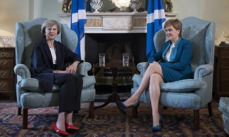 Nicola Sturgeon will be delighted with Theresa May's hardline approach