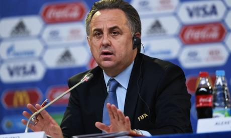 Vitaly Mutko applauded Russia's fans after their clash with England last summer