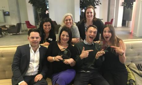 talkRADIO news team scoops up gong at the IRN Awards