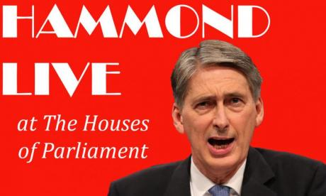 Jon Holmes creates an advert for comedy DVD 'Philip Hammond Live at the Houses of Parliament'