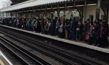 Twitter users air their fury over Central Line disruption during rush hour