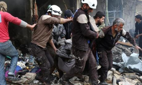 Assad troops have reportedly killed a regional leader of the White Helmets rescue squad