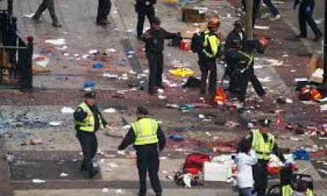 The Boston Marathon was the scene of a terrorist attack in 2013 (Wikipedia)