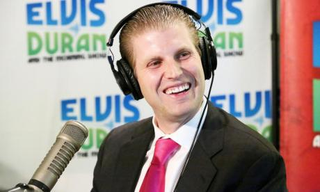Eric Trump defends his father over the Syria airstrike, says it shows Donald Trump isn't Vladimir Putin's ally