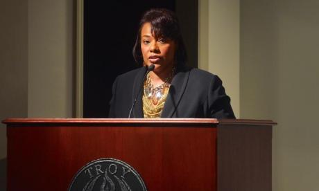Bernice King had her say on Twitter
