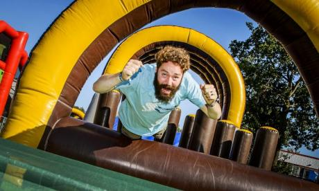 The Big Debate on balance: 'There are young people today who can't get on the bouncy castle ladder'