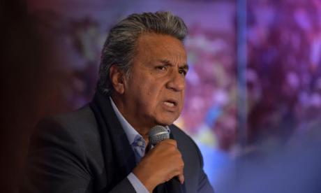 Ecuador's Lenin Moreno set to win election despite fraud claims