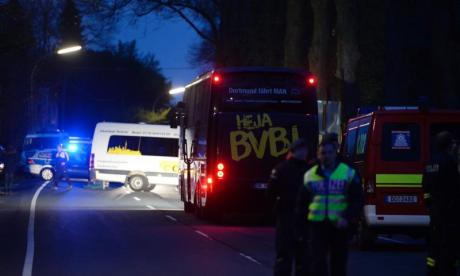 Dortmund bus explosion: 'Islamist' letter found at scene warns 'all athletes are on our death list'