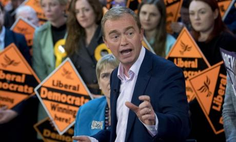 'Tim Farron is asked about his beliefs as journalists know it will make him squirm', says Lib Dem commentator