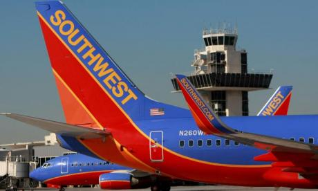 Southwest Airlines pilot arrested after loaded gun is found in hand luggage
