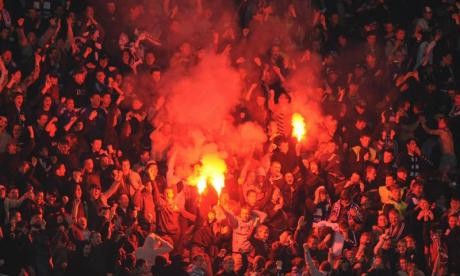 Uefa investigate after Dynamo Kiev supporters wear Nazi and KKK costumes during match